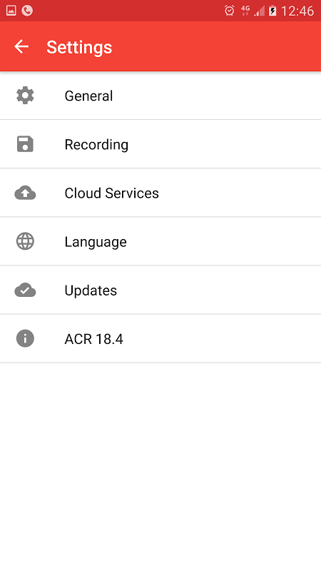 Android Call Recorder - ACR Screen 12
