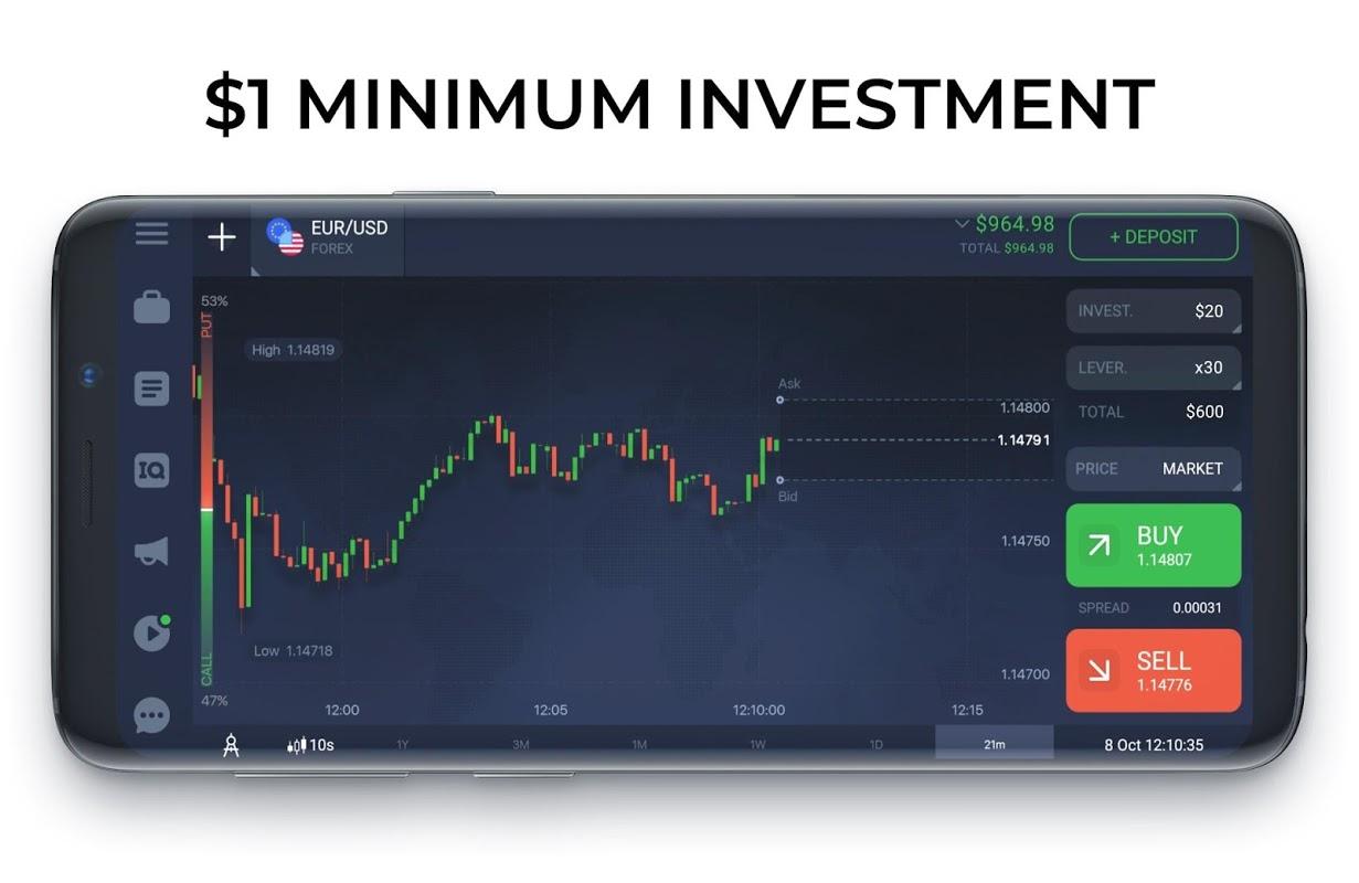 IQ Option broker: trade forex, CFD�s, bitcoin 5.20.0 Screen 3