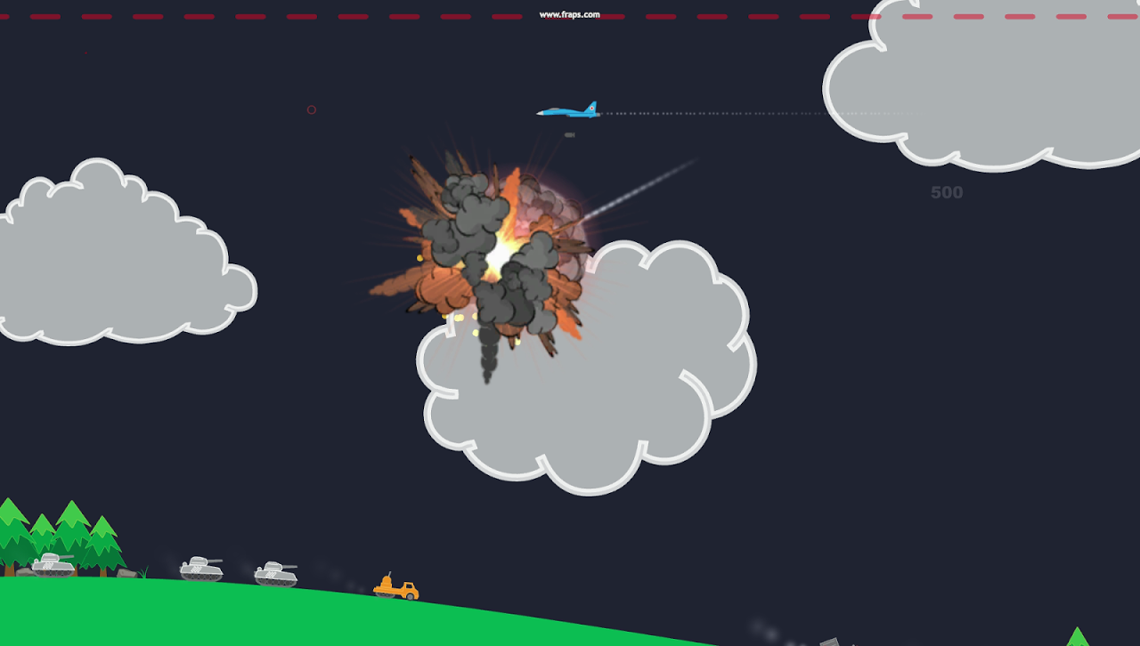 Android Atomic Fighter Bomber Pro Screen 1