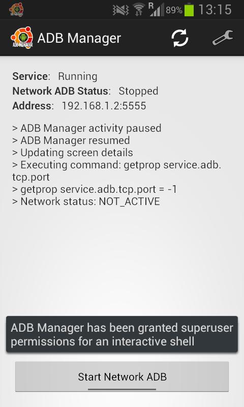 ADB Manager 1 2 1 APK Download by Torsten Römer | Android APK