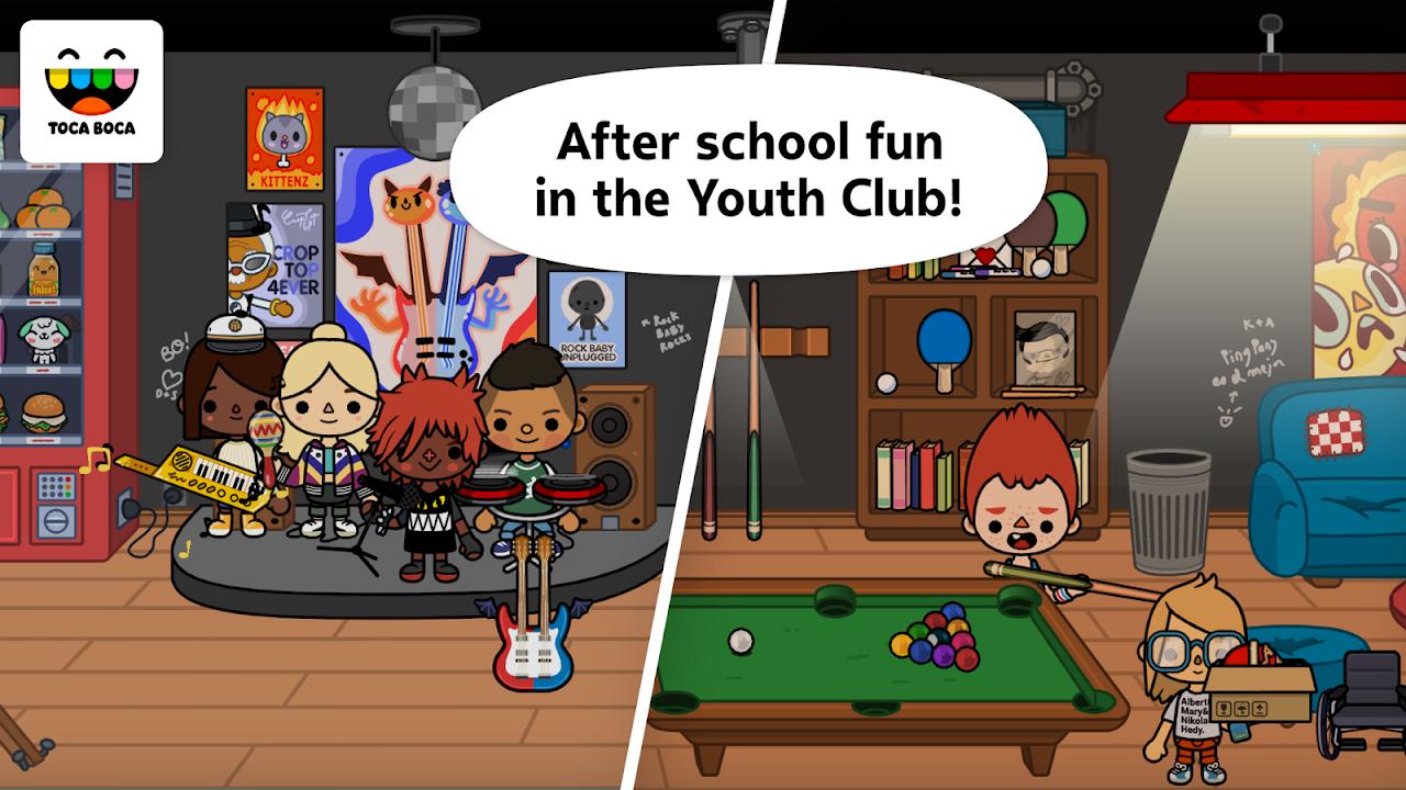 Toca Life: School 1.4-play Screen 1
