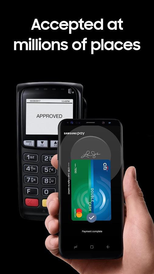 Samsung Pay 3.0.07 Screen 1