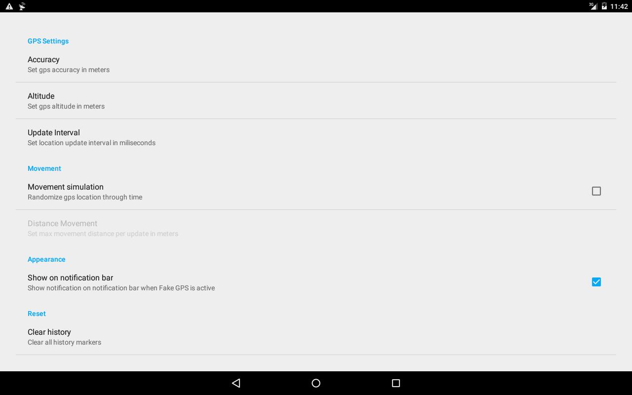 Fake GPS 4.8.4 Screen 4