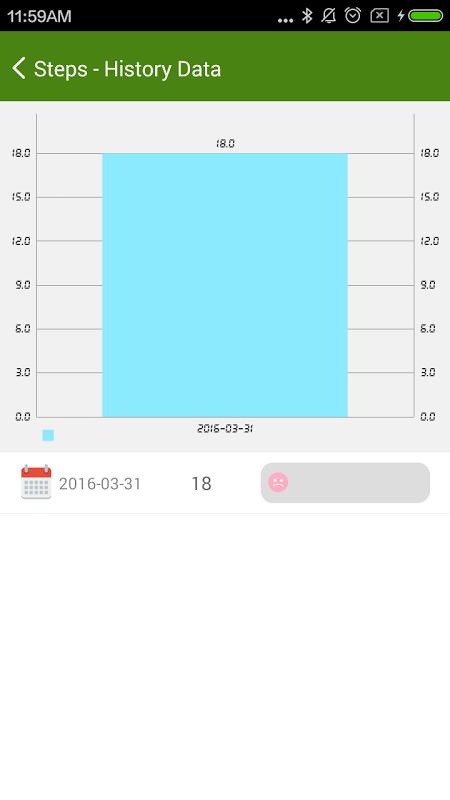 4Free Pedometer 2.5.1 Screen 2