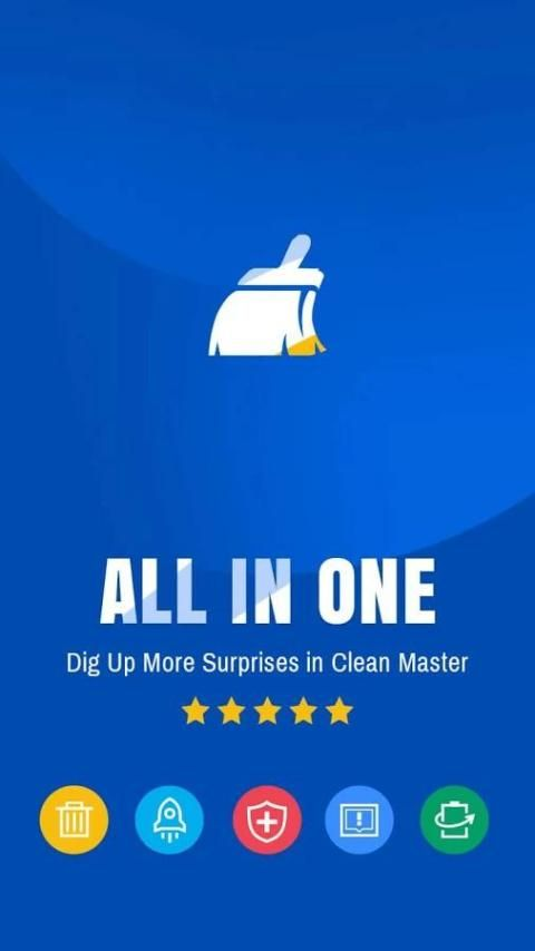 Android Clean Master- Space Cleaner & Antivirus & Free Ram Screen 7