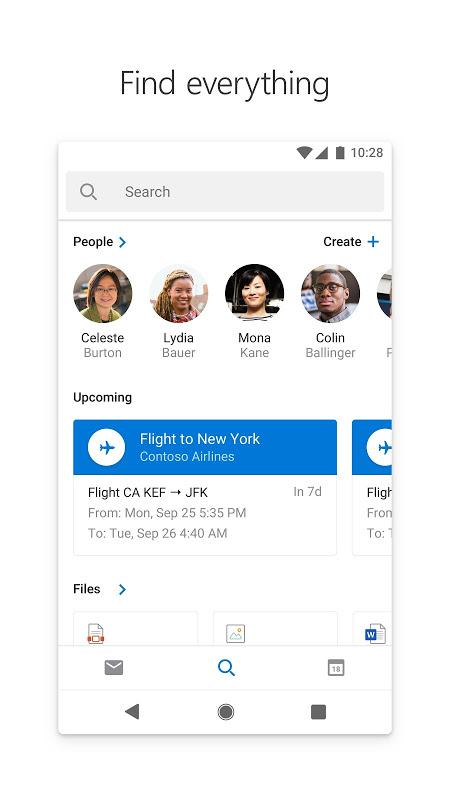 Microsoft Outlook 3.0.128 Screen 2