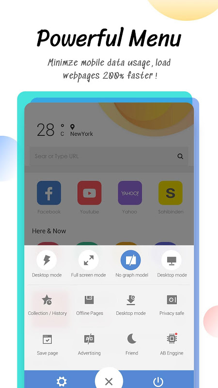 Android Minifier Browser - Fast & Small Screen 6
