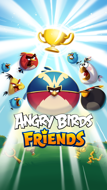 Android Angry Birds Friends Screen 9