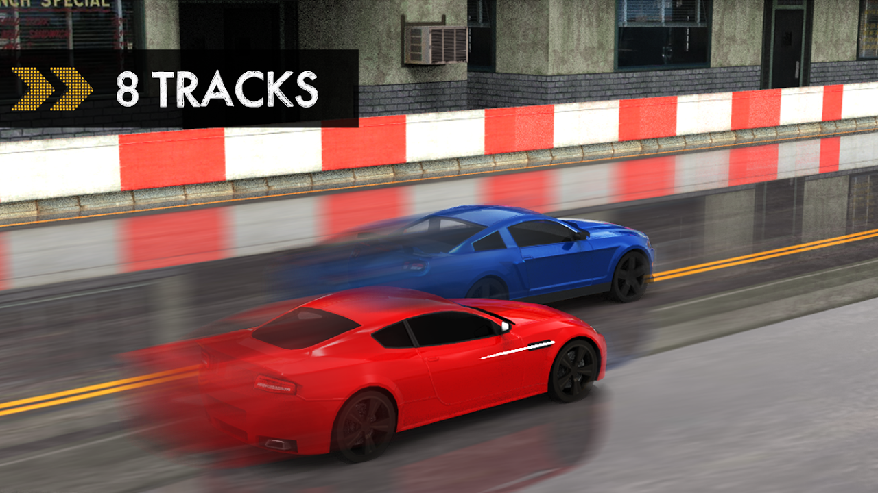 Android Car Racing Screen 2