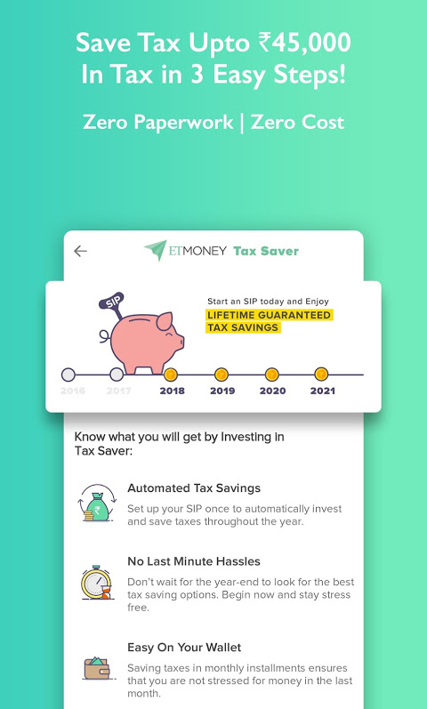 ETMONEY: Mutual Funds, Credit and Expense Manager 3 1 1 9 APK
