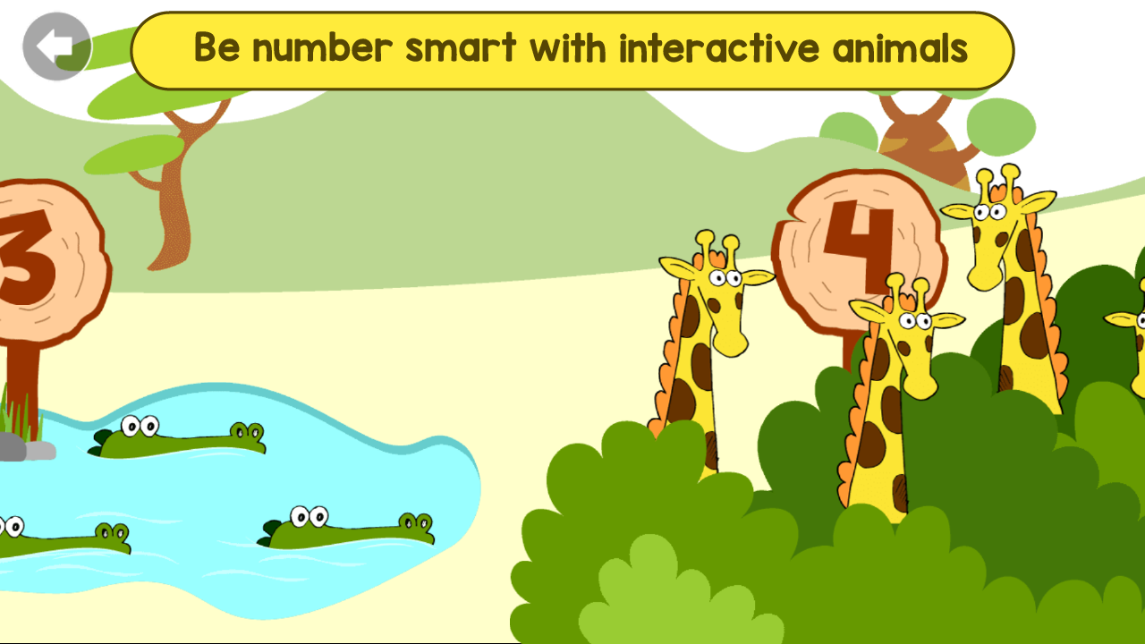 Android Kindergarten Kids Learning : Educational Games Screen 1