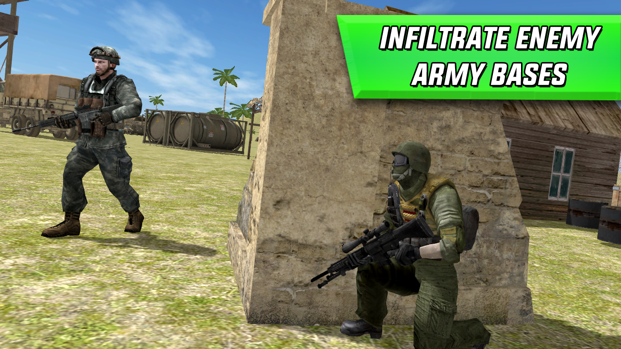Sniper Shooter Army Soldier 1.0 Screen 1