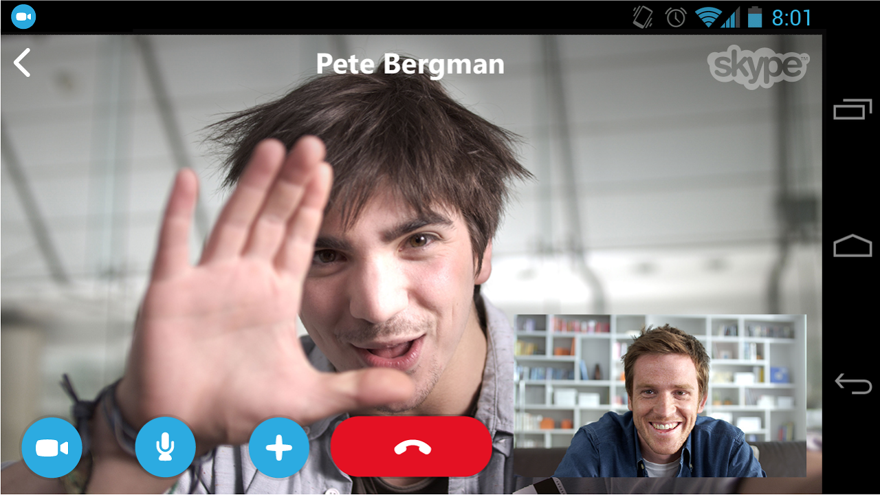Android Skype Screen 4