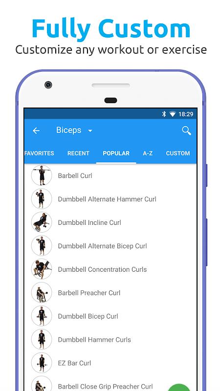 JEFIT Workout Tracker, Weight Lifting, Gym Log App 10.13 Screen 6