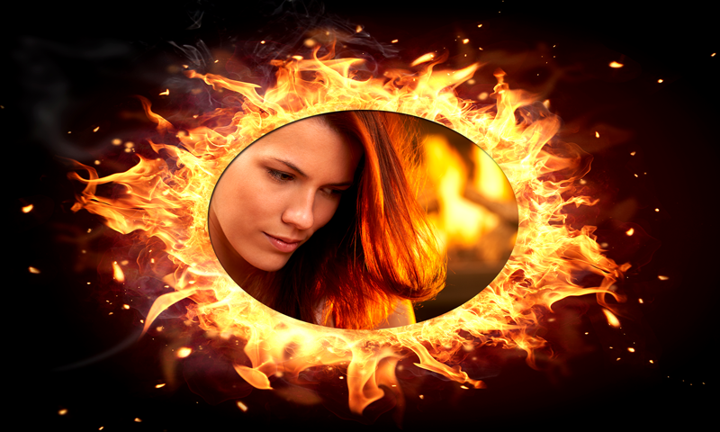 Android Fire Photo Selfie Screen 4