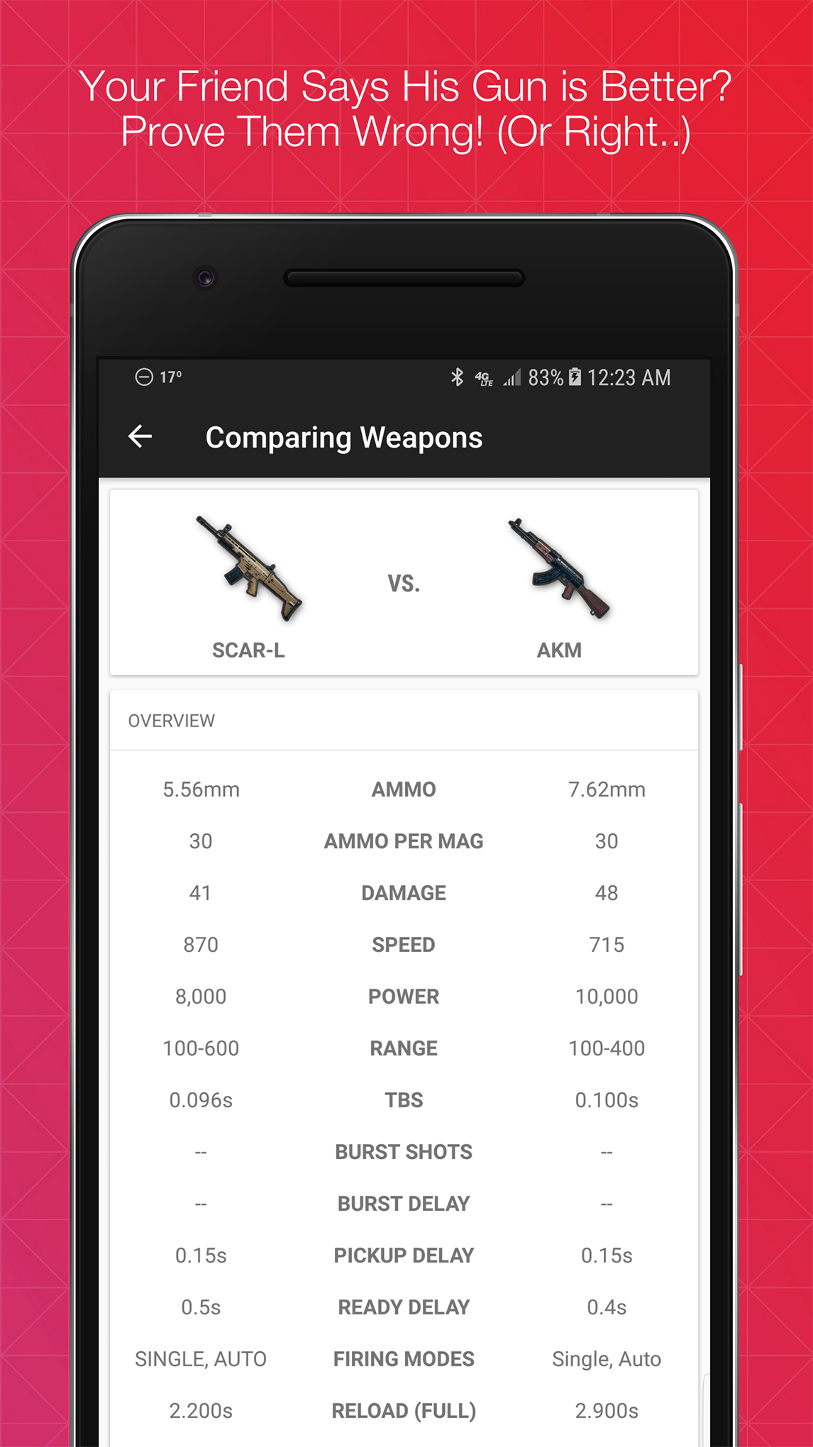 Battle Buddy for PUBG 1.1.0 Screen 1