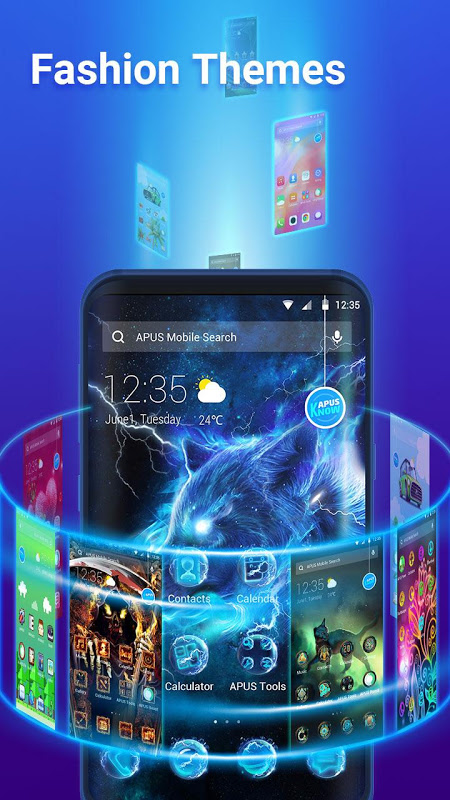 Android APUS Launcher Pro- Theme, Wallpapers, Boost, Smart Screen 1