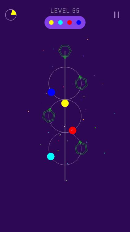 Android Galaxy Balls Screen 2