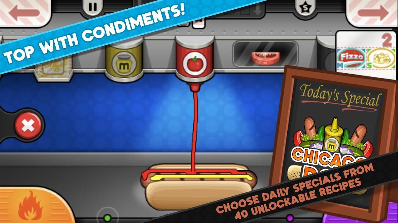 Papa's Hot Doggeria To Go! 1.0.0 Screen 2