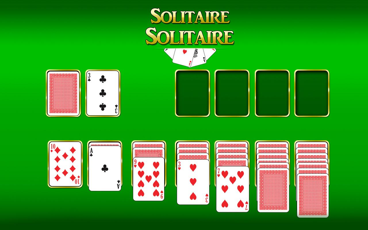 Android Solitaire Solitaire Screen 1