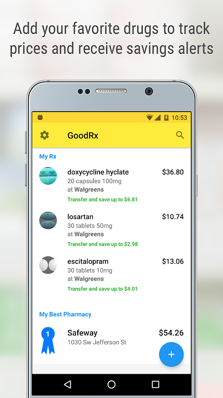 GoodRx Drug Prices and Coupons 5.7.8 Screen 3