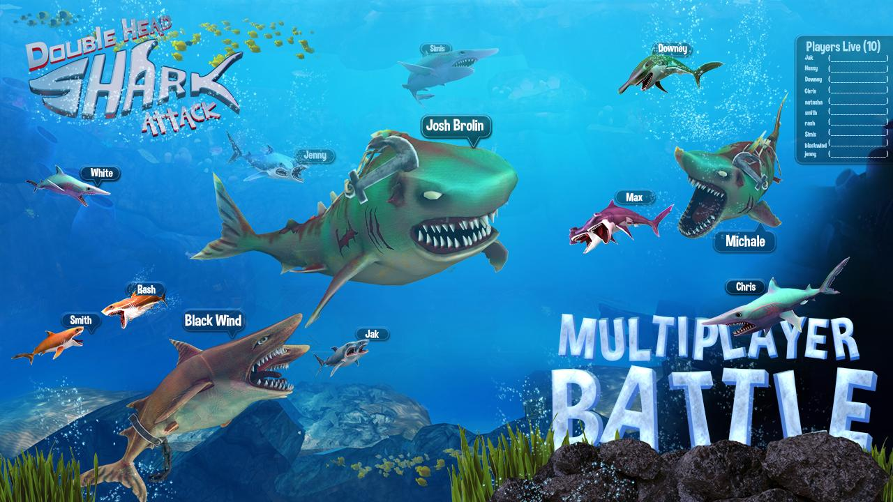 Double Head Shark Attack - Multiplayer 7.2c Screen 1