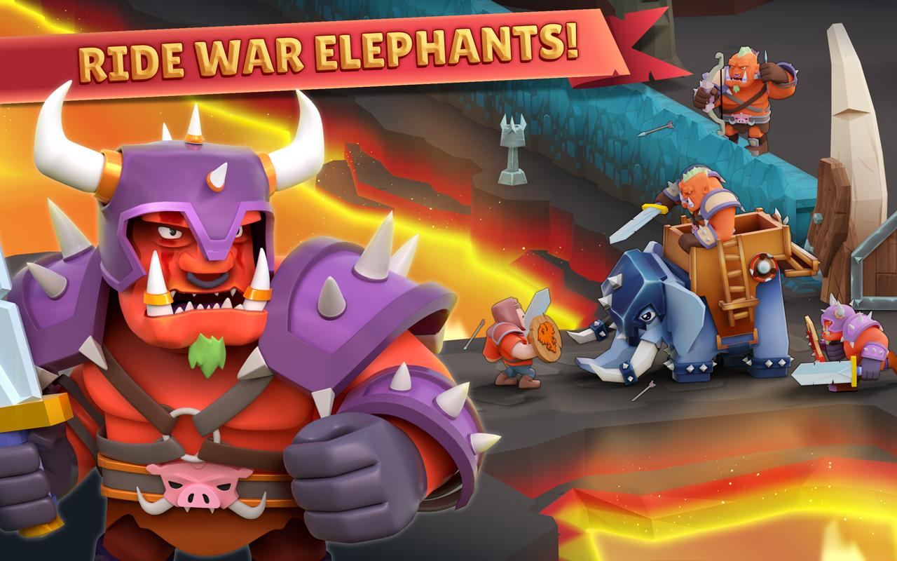 Android Game of Warriors Screen 4