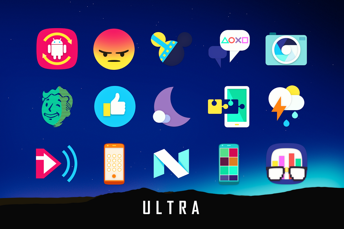 Android Ultra Icon Pack Screen 5