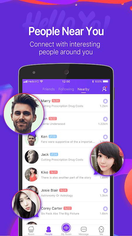 Hello Yo – Free Voice Chat Rooms 1.11.0 Screen 3