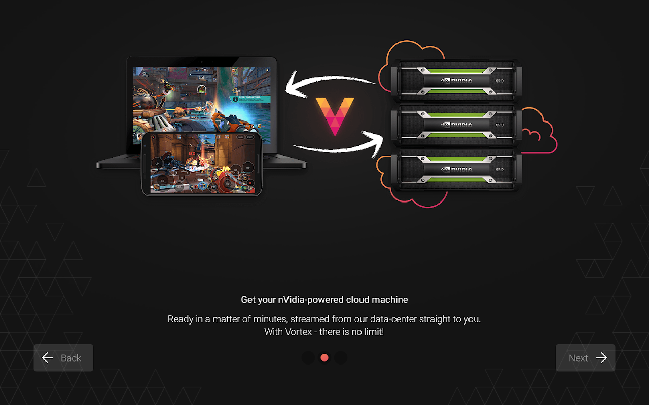 Android Vortex Cloud Gaming Screen 13