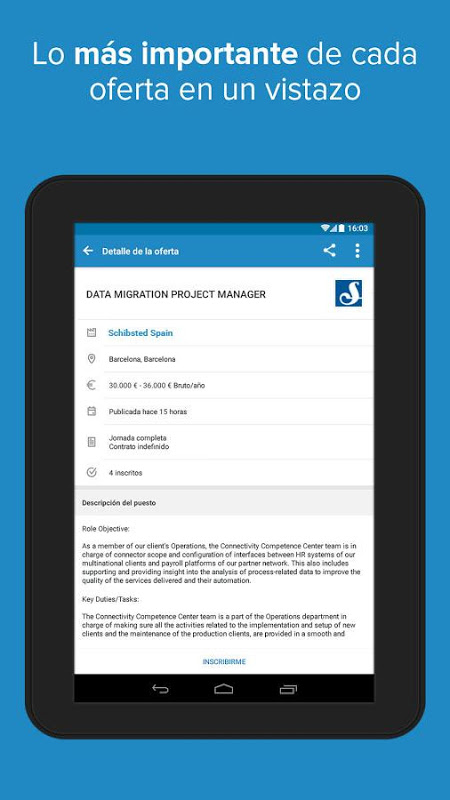Android InfoJobs - Job Search Screen 12