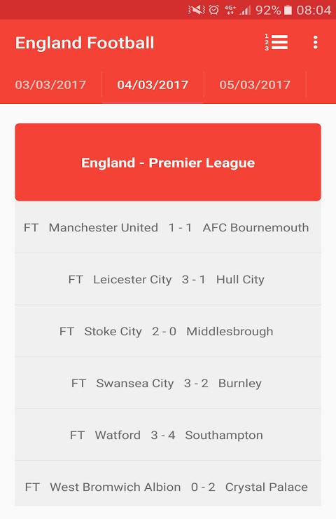English Premier League 3.0 Screen 8