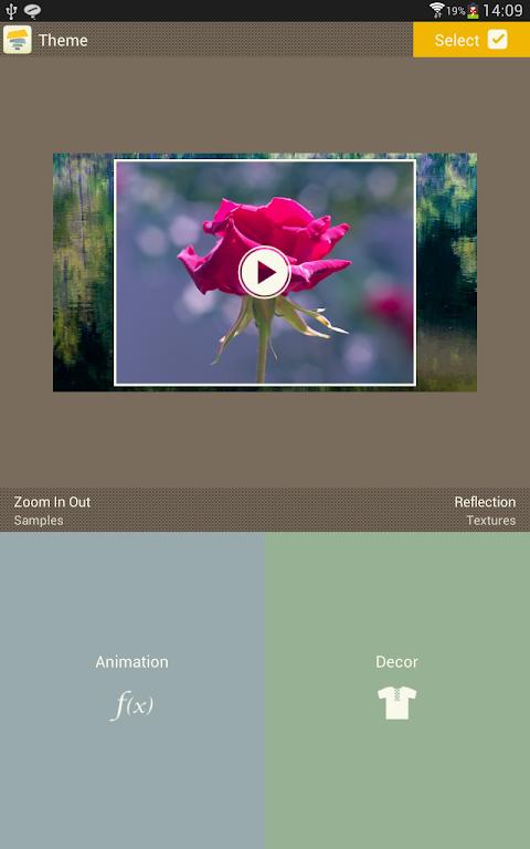 Android SlideFX Video Creator Screen 15