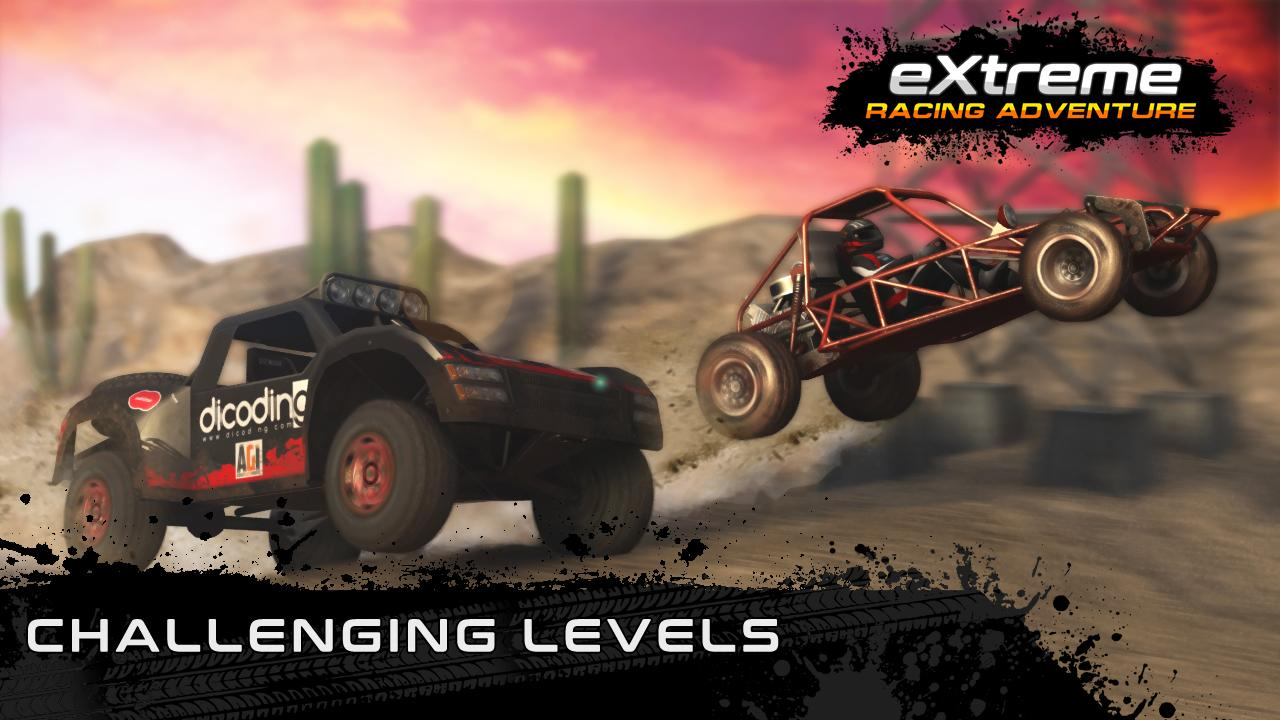 Android Extreme Racing Adventure Screen 3