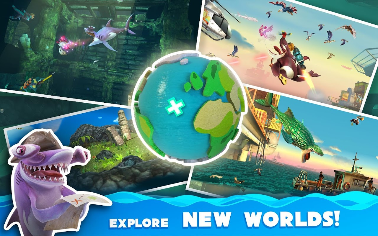 Android Hungry Shark World Screen 13