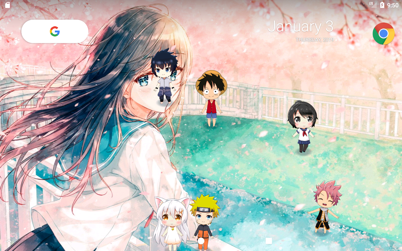 Lively Anime Live Wallpaper APKs   Android APK