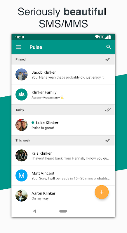 Android Pulse SMS (Phone/Tablet/Web) Screen 6