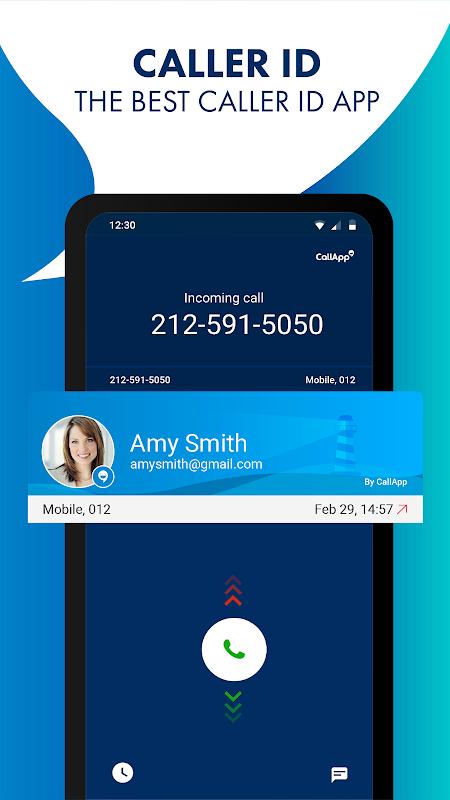 Android CallApp: Caller ID, Call Blocker & Recording Calls Screen 3