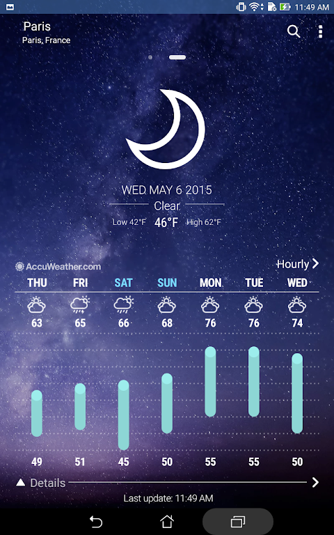 ASUS Weather 5.0.1.17_181213 Screen 2