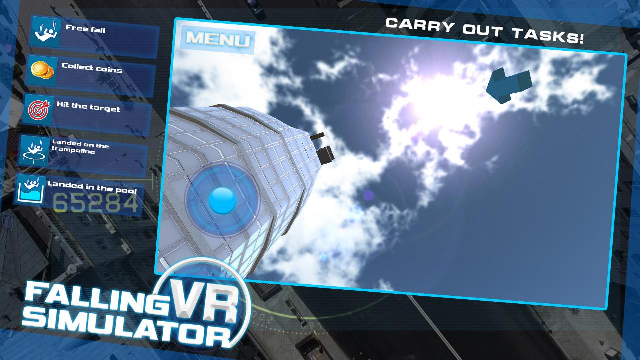 Android Falling VR Simulator Screen 3