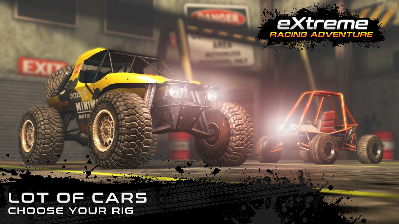 Android Extreme Racing Adventure Screen 2