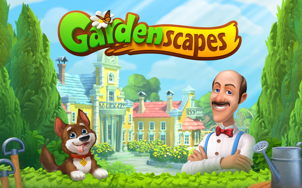 Android Gardenscapes Screen 6